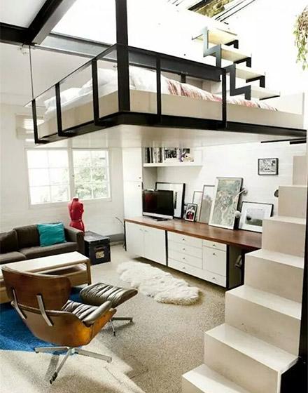 实用小户型loft风格装修装饰