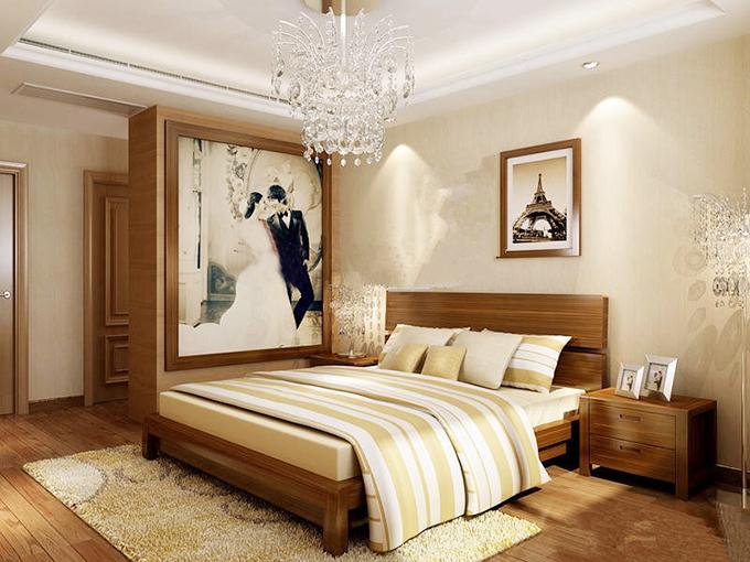 卧室吊顶装修装饰效果图