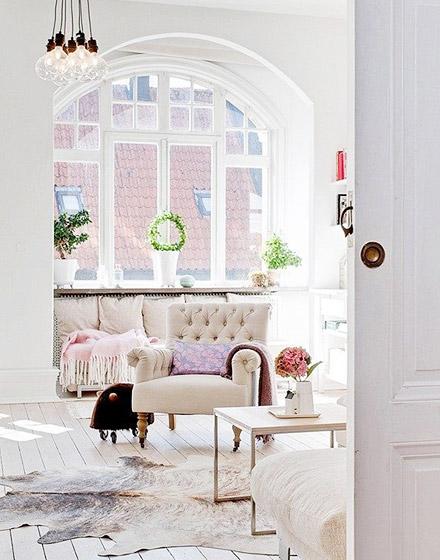 优雅客厅沙发效果图欣赏