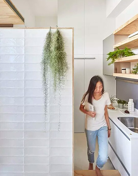 10平米超小户型厨房隔断装修
