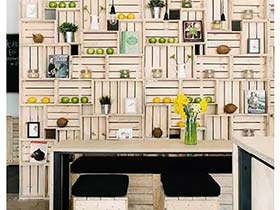 有木头就收起来吧  10款旧物利用装饰图片