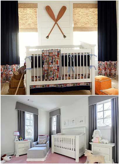 婴儿房设计平面图