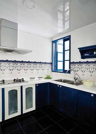 地中海厨房设计效果图