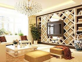 创新空间你所享 10个电视背景墙设计图