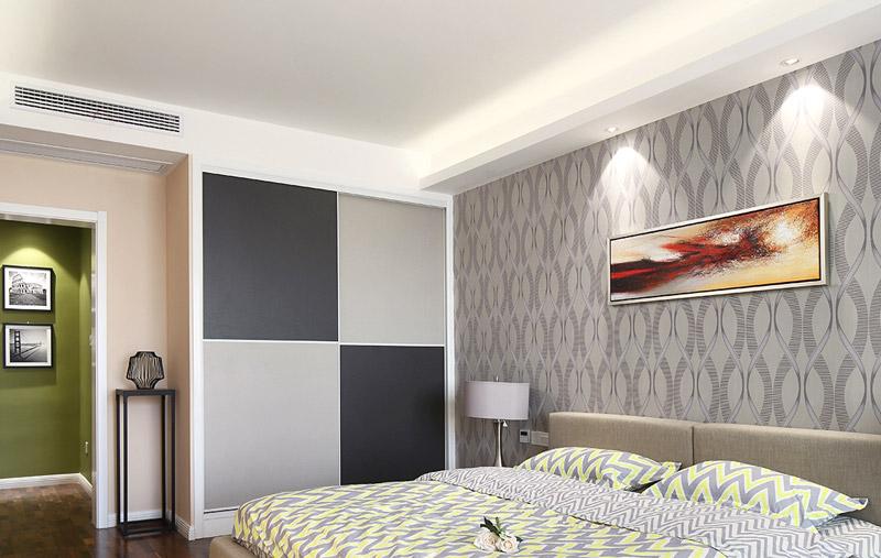 简约风格四房两厅卧室壁纸效果图