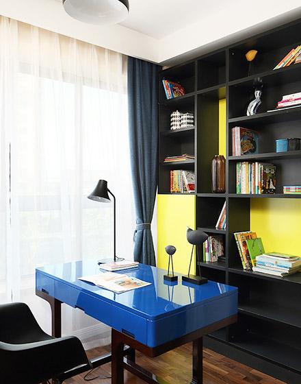 简约风格四房两厅书房装修图片