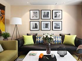 休闲的美式舒适的空间 简约三居室效果很好