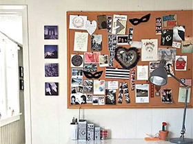 10个书房软木背景墙图片 环保家居好帮手
