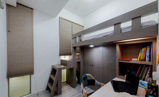 150平地中海乡村卧室设计效果图