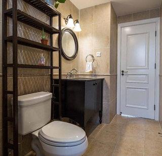 88平美式复古卫生间装修图片