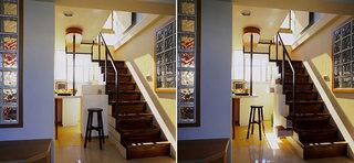 46平小复式楼收纳楼梯设计图