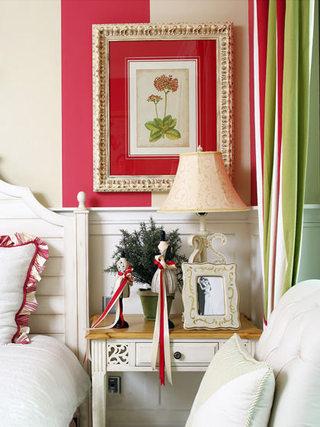 400平英式田园床头柜装饰效果图