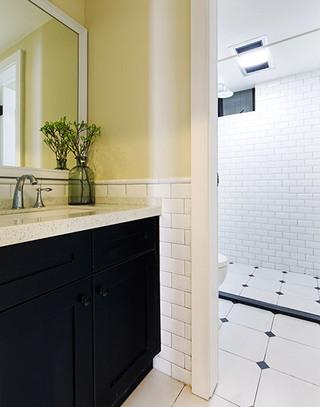 北欧风格三室两厅卫生间效果图装修