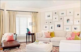 可爱客厅背景墙图片大全