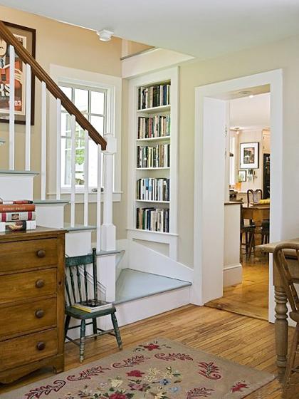 木质楼梯布置构造图