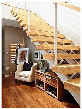 楼梯小客厅装修效果图