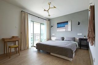 时尚简约北欧风格 卧室装修效果图