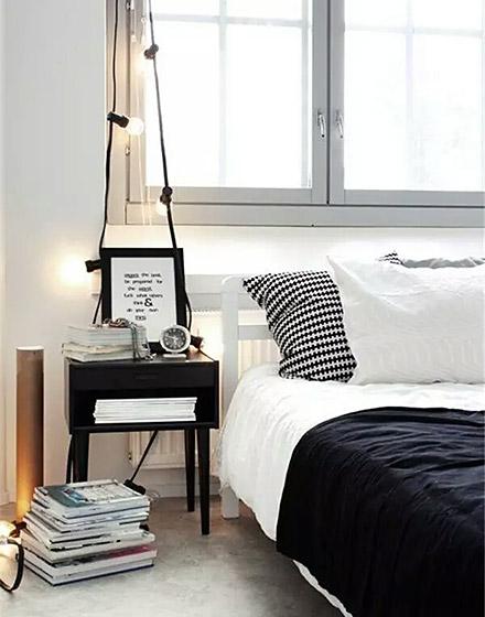 时尚卧室床头柜效果图装修