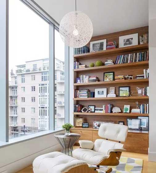阳台书房装饰设计图片