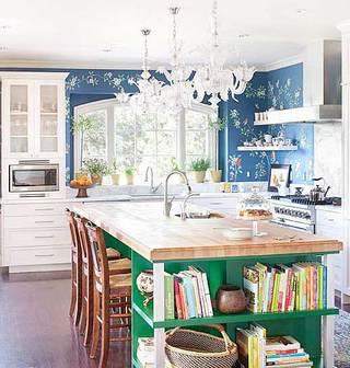 美式小清新厨房设计图片