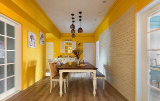 沉浸在色彩中  非常靓丽的简欧风格公寓2/7