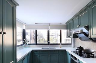 220㎡美式四居室厨房装修图片大全