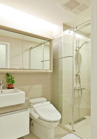 59平美式乡村小户型卫生间设计图大全