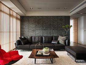 现代前卫风格设计 112平米三房2厅装修