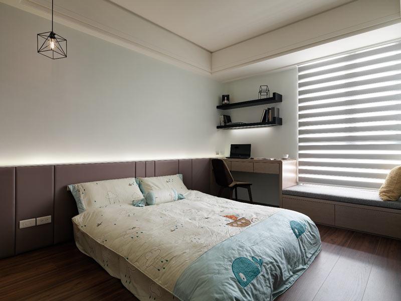 112平米现代前卫卧室装修设计图