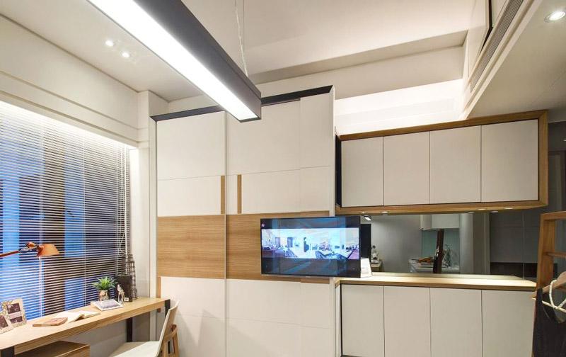 小户型单身公寓电视柜设计图