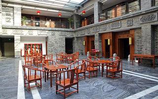 露天中式茶楼装修设计效果图