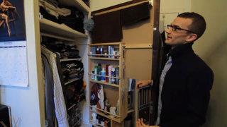 7平米超小户型衣柜收纳效果图