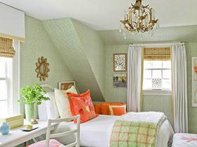 10个阁楼卧室装修效果图 告别昏暗不用愁