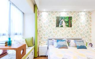 简约风格三室两厅卧室壁纸图片