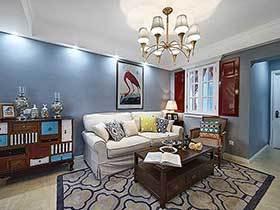 这台美式两居室装修  超级吸引人