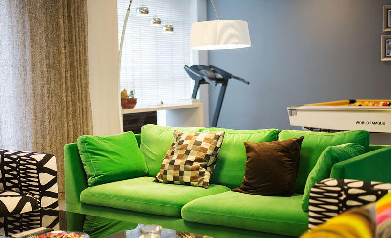 280平现代简约客厅沙发装饰图