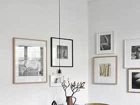 墙面上的独特风景  10款气质照片墙装饰布置图