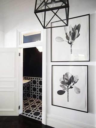 走廊照片墙摆放布置图