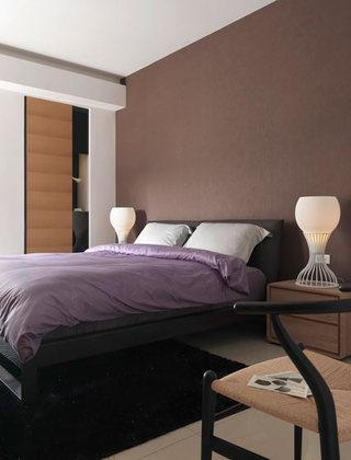 210平现代简约卧室背景墙设计图