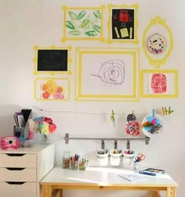 幼儿园墙面布置图片我最棒