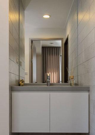 100平米美式三居洗手台装修效果图