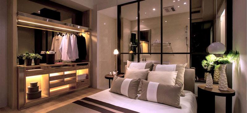 个性现代新中式卧室装修