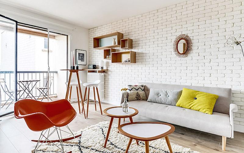 27平米超小户型客厅装修效果图