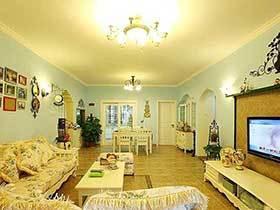 田园爱好者的福音  这套两居室装修很好看