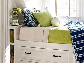10个卧室收纳床装修效果图 小户型必备