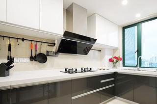 132平米混搭三居室厨房装修图片
