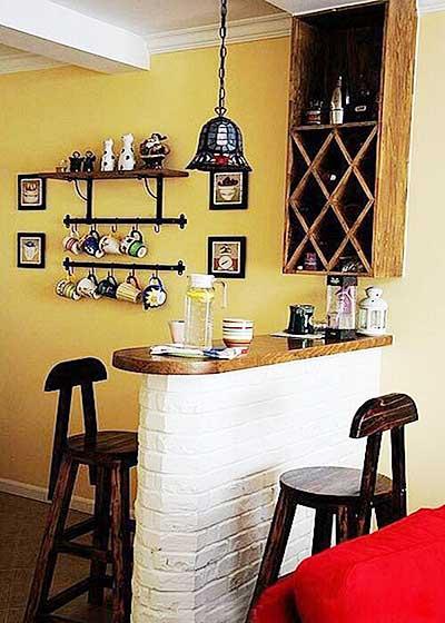砖砌吧台装修装饰图片