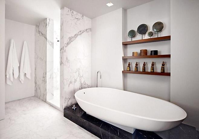 卫生间浴缸效果图大全