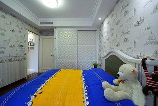 简美风格200平大户型儿童房设计