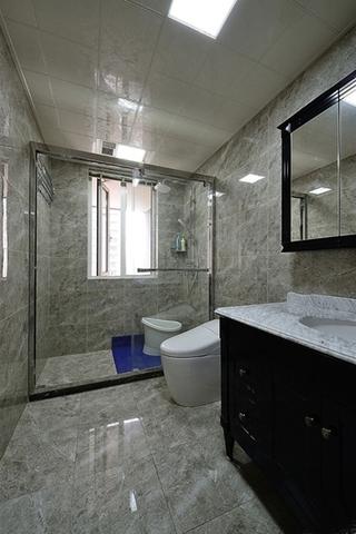 简美风格200平大户型卫生间设计